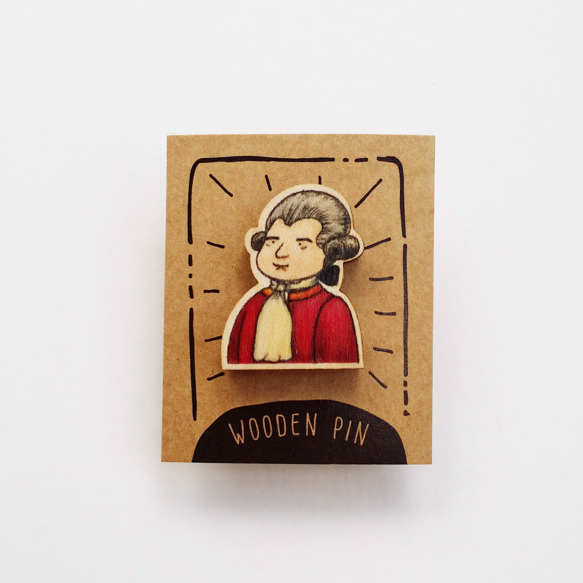 PS012 Pin Mozart