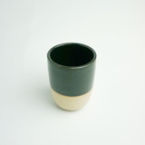 Ly Gốm Thủ Công Simple Đen - Handmade Pottery Simple Cup Black