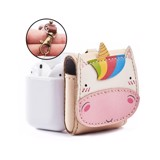 Bao Da Đựng Airpod Kỳ Lân - Leather Airpod Case Unicorn Edition