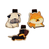 Set Bookmark 3 Chó Pug- BM028