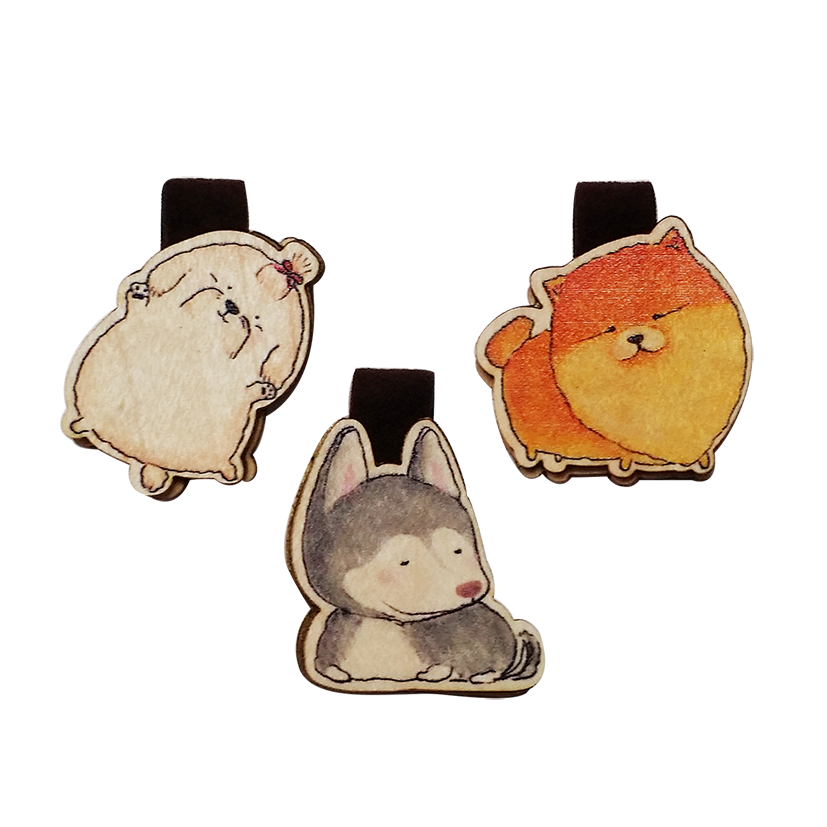Set Bookmark 3 Chó Husky - BM029