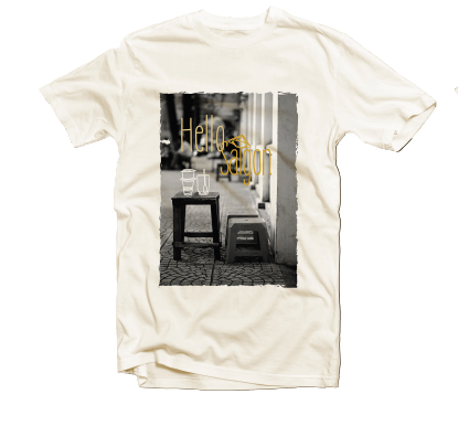 Áo thun in Tick&Pick - Hello Saigon // Printed T-shirt Hello Saigon