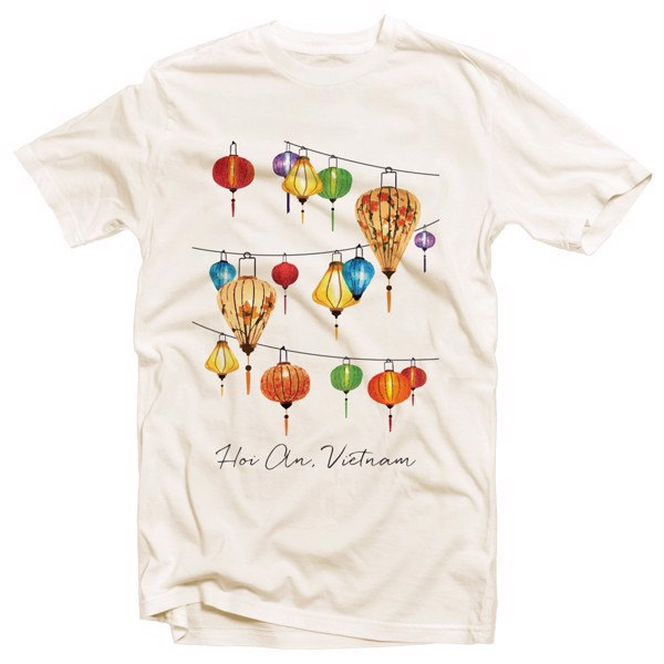 Áo Thun In Hoi An Lanterns - Hoi An Lanterns Printed T-shirt