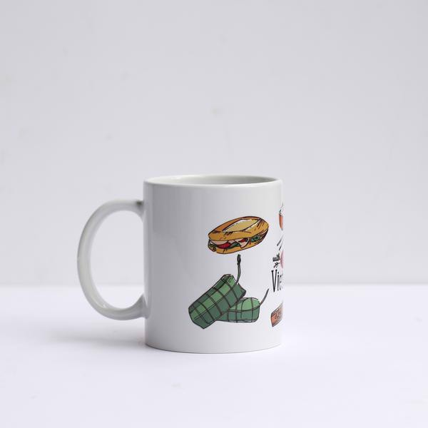 Ly Sứ - Food To Go // Porcelain Cup Food To Go