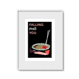 Tranh In Falling Pho You - Painting Falling Pho You
