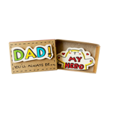 Hộp Diêm Quà Tặng Dad My Hero - Dad My Hero Gift Match Box