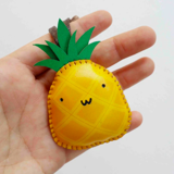 Charm Da Quả Dứa Độc Đáo - Unique Leather Charm Pineapple Edition
