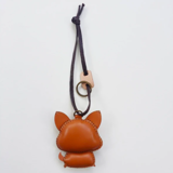 Charm Da Cún Corgi Độc Đáo - Unique Leather Charm Corgi Edition