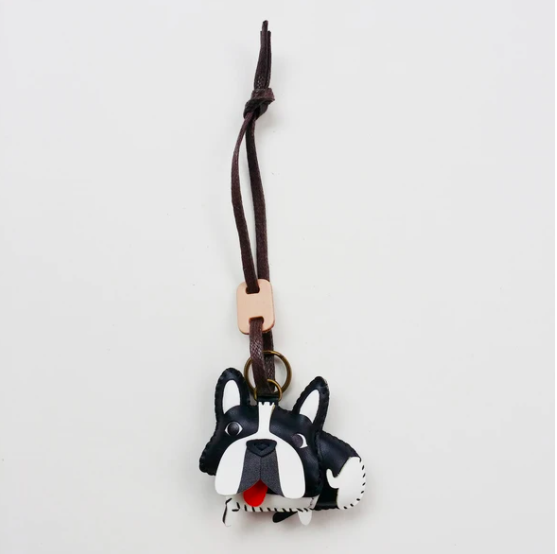 Charm Da Bull Pháp Độc Đáo - Unique Leather Charm Frenchies Edition