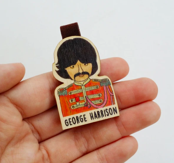 Kẹp Sách Giấy George Harrison - Paper Bookmark George Harrison
