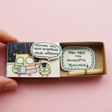 Hộp Diêm Quà Tặng Mrs Favorite Teacher - Mrs Favorite Teacher Gift Match Box