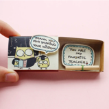 Hộp Diêm Quà Tặng Mr Favorite Teacher - Mr Favorite Teacher Gift Match Box