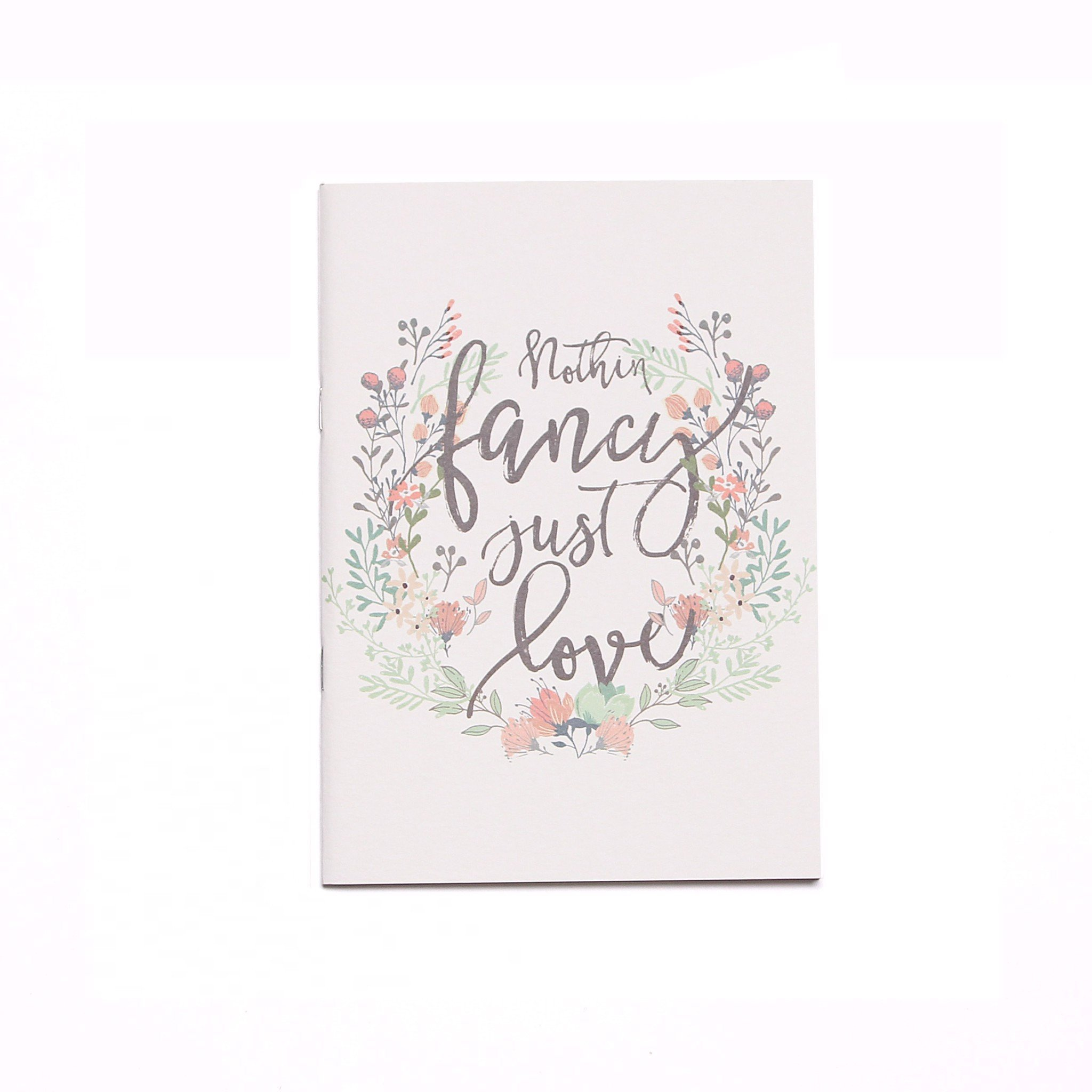 Sổ Tay Họa Tiết Love Quotes Trắng - Notebook White Love Quotes Edition