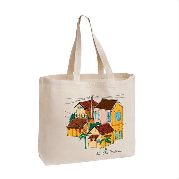 Túi Tote Canvas - Home Of Hoi An // Canvas Tote Bag Home of Hoi An