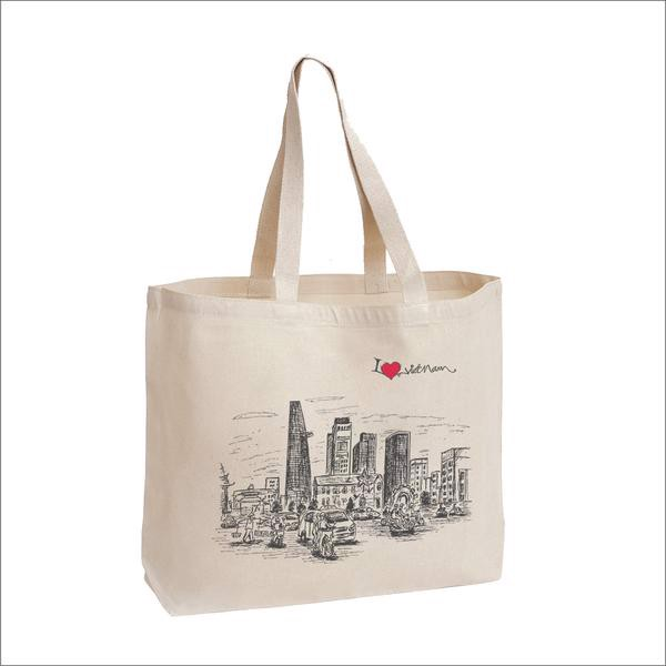 Túi Tote Canvas - I Love Saigon // Canvas Tote Bag I Love Saigon