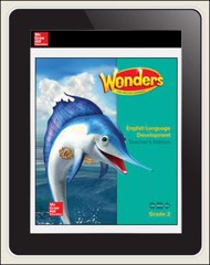 Reading Wonders for English Learners Student Workspace 1 Yr Subscription 1 Seat Grade 2