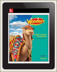 Reading Wonders for English Learners Student Workspace 1 Yr Subscription 1 Seat Grade 3