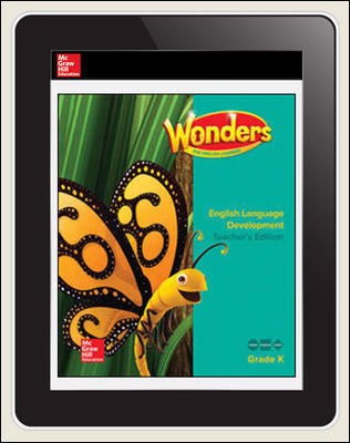 Reading Wonders for English Learners 6 Seats Student Workspace 1 Yr Subscription Grade K