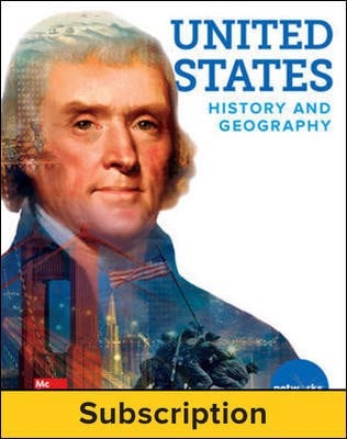 United States History and Geography, Student Learning Center, 1-year subscription