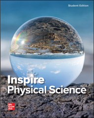 Inspire Physical Science: G9-12, Student Edition