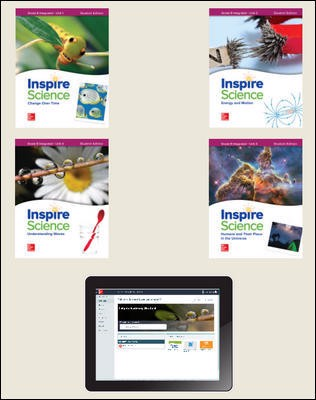 Inspire Science: Integrated G8 Comprehensive Student Bundle 1-year subscription