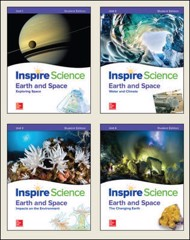 Inspire Science: Earth & Space Write-In Student Edition 4 Unit Bundle
