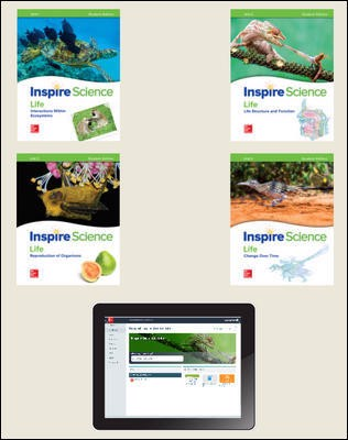 Inspire Science: Life Comprehensive Student Bundle 1-year subscription