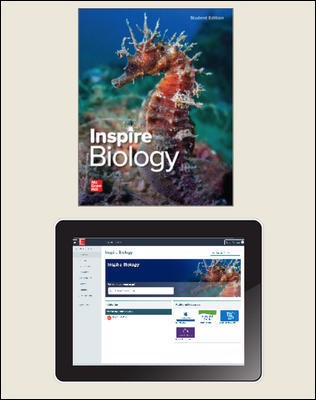 Inspire Science: Biology, G9-12 Comprehensive Student Bundle, 1-year subscription