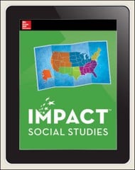 IMPACT Social Studies, Regions of the United States, Grade 4, Online Teacher Center, 1-year subscription