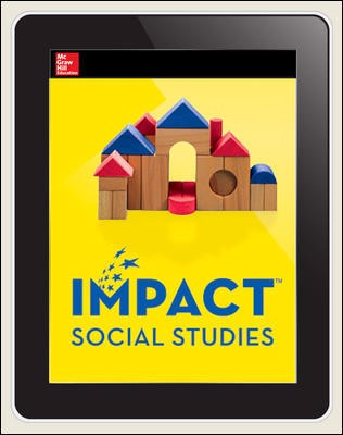 IMPACT Social Studies, Learning and Working Together, Grade K, Online Teacher Center, 1-year subscription