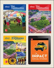 IMPACT Social Studies, Our Communities, Grade 3, Complete Print & Digital Student Bundle, 1 year subscription