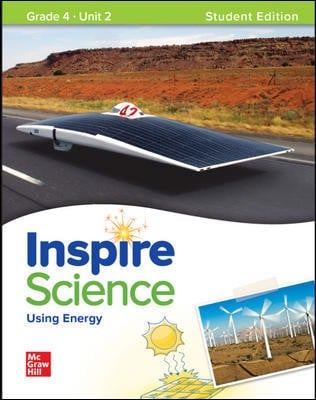 Inspire Science: Grade 4, Student Edition, Unit 2