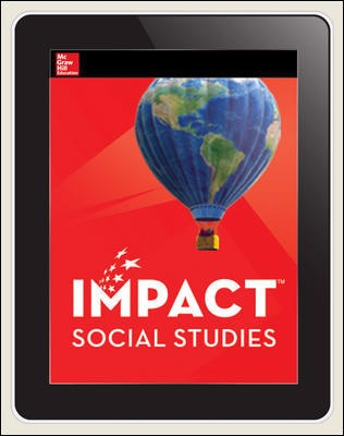 IMPACT Social Studies, Our Place in the World, Grade 1, Online Student Center, 1-year subscription