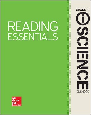 Glencoe iScience, Integrated Course 2, Grade 7, Reading Essentials, Student Edition