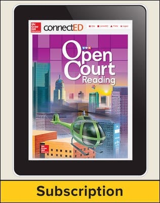 Open Court Reading Grade 4 Student License, 1-year subscription