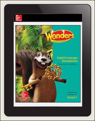 Reading Wonders for English Learners Student Workspace 1 Yr Subscription 1 Seat Grade 1