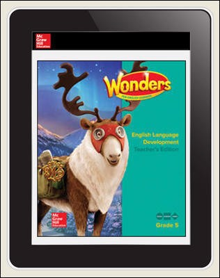 Reading Wonders for English Learners 6 Seats Student Workspace 1 Yr Subscription Grade 5