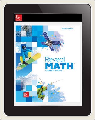 Reveal Math Course 1, Teacher Digital License, 1-year subscription
