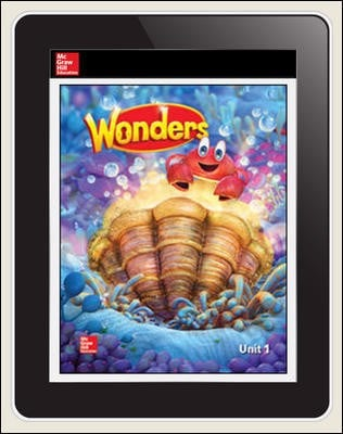 Wonders Student Online Workspace 1-Year Online Subscription Grade K