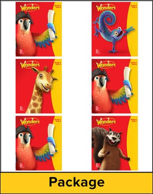 Wonders Teacher's Edition Package, Grade 1