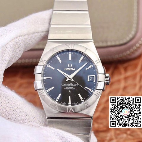 Đồng hồ cơ Omega Constellation Co-Axial Chronometer Men 38mm 123.10.38.21.01.001
