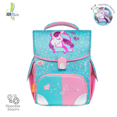 Cặp Jolly - Musical Pony (Blue) [Sequins]