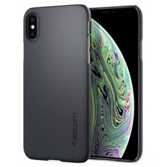 Ốp Iphone XS Spigen Thin Fit (xám)