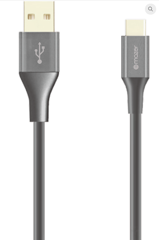 Mazer USB-A To USB-C 3.1A/1.2M Cable