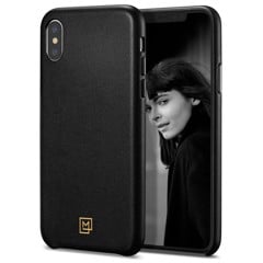 Ốp Iphone XS Spigen La Manon Calin (đen)