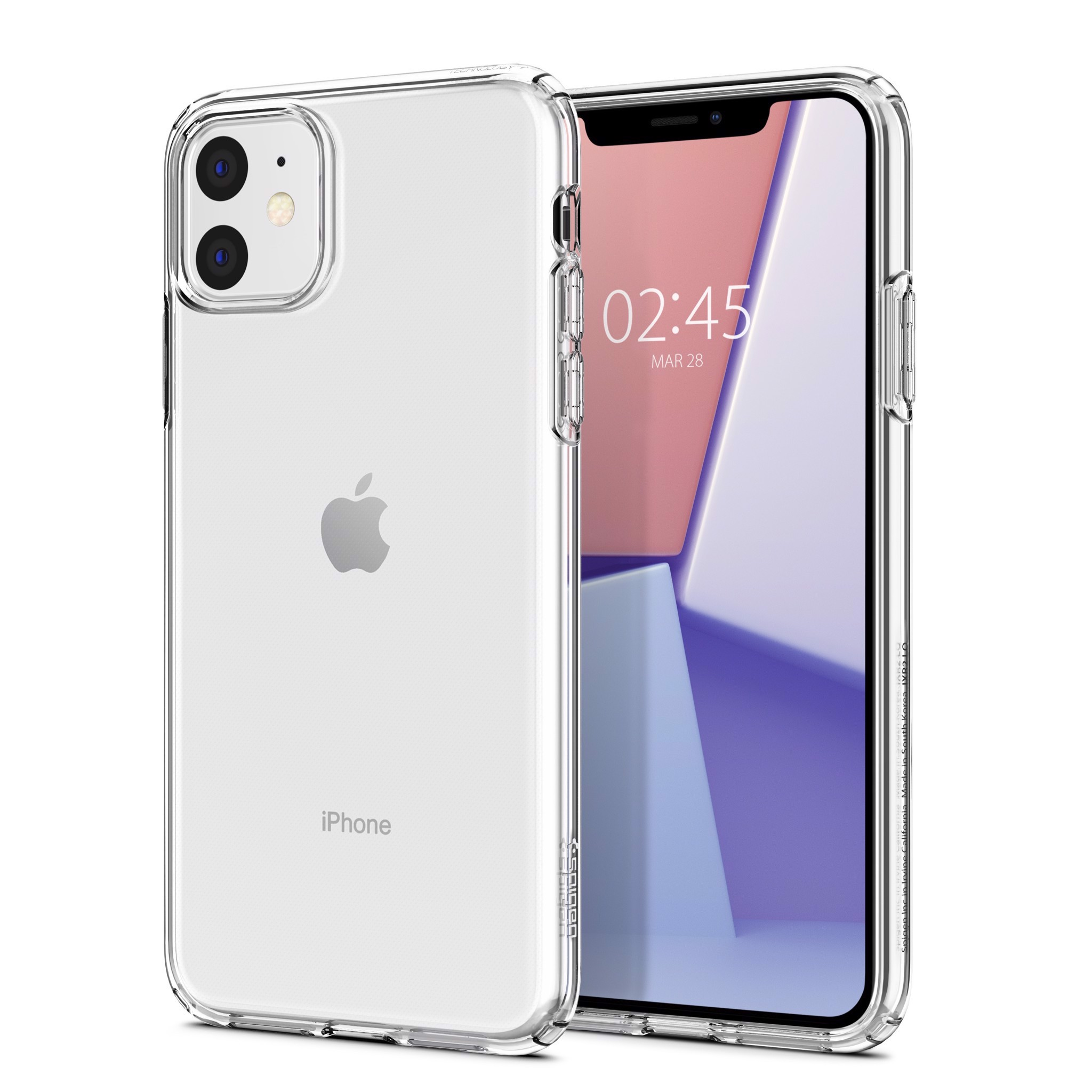 Ốp Iphone 11 Spigen Crystal Flex