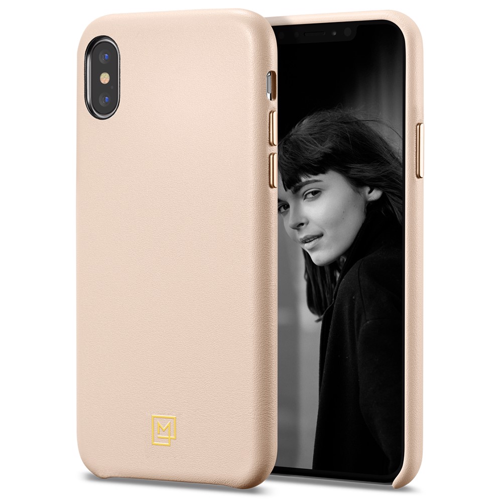 Ốp Iphone XS Spigen La Manon Calin (gold)