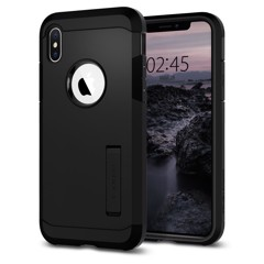 Ốp Iphone XS Spigen Tough Armor (đen)