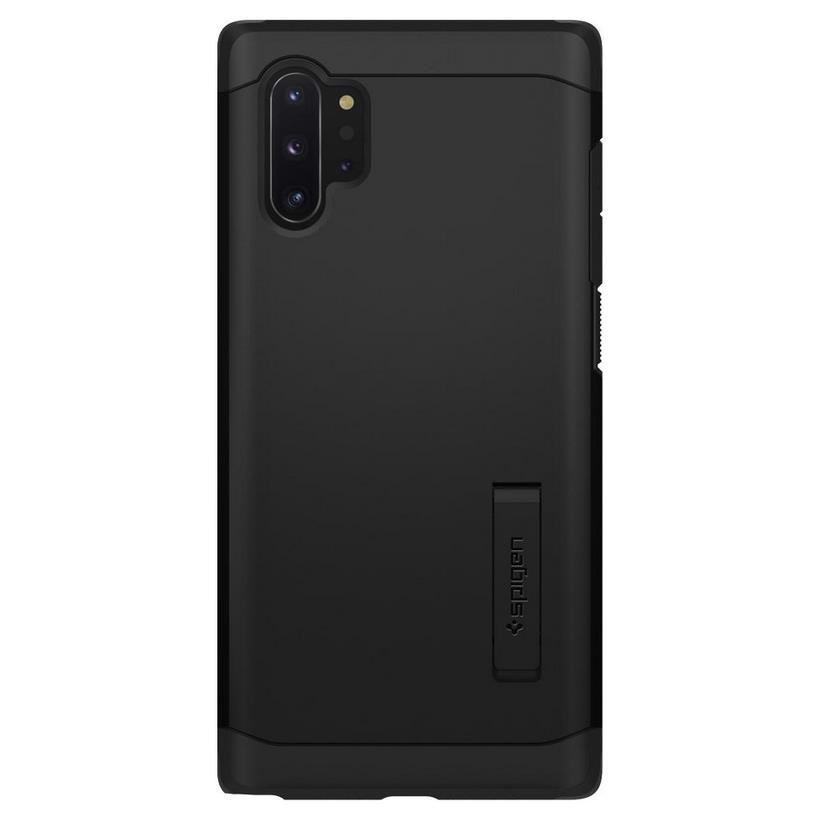 Ốp Samsung Galaxy Note 10 Plus Spigen Tough Armor (đen)