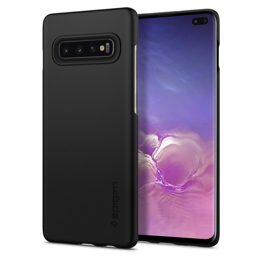 Ốp Samsung S10 Plus Spigen Thin Fit (đen)